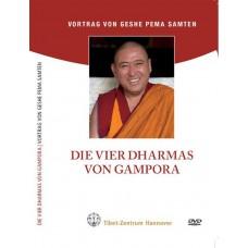 Die 4 Dharmas von Gampopa (einfach)