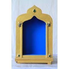 Schrein mit blauem Hintergrund (extra groß)
