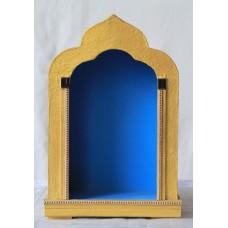 Schrein mit blauem Hintergrund (groß)